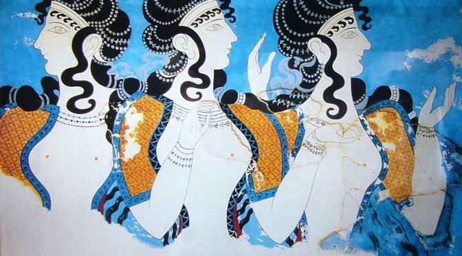 Η γυναικεία ενδυμασία στη μινωική Κρήτη
